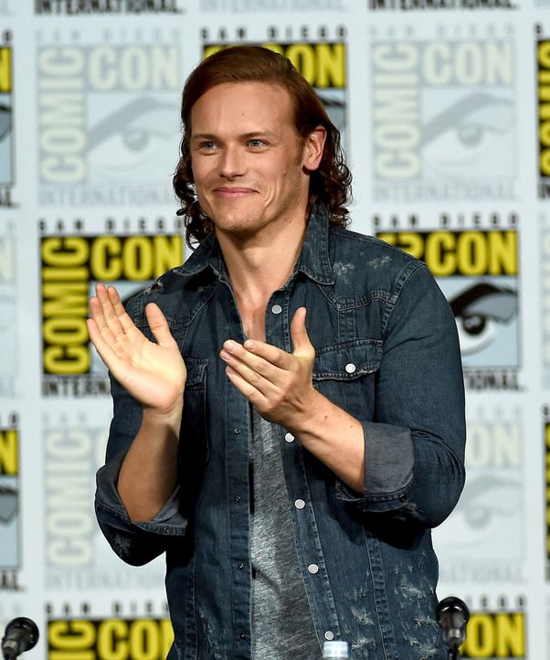 Comic-Con-2015-11-Outlander-heughan-getty-AFP - Bildquelle: getty-AFP