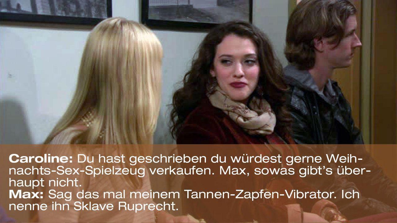 2-broke-girls-episode-12-elfen-terror-weihnachts-sex-spielzeug-warnerjpg 1600 x 900 - Bildquelle: Warner Brothers Entertainment Inc.