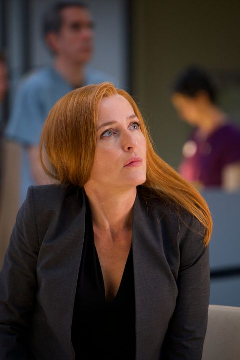 Kommt Scully (Gillian Anderson) ihrem Sohn dichter, als sie sich je erträumt hatte? - Bildquelle: Shane Harvey 2018 Fox and its related entities.  All rights reserved.