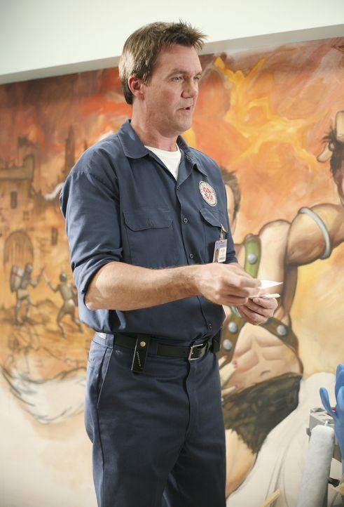 Ein wahrer Künstler: Der Hausmeister (Neil Flynn) ... - Bildquelle: Touchstone Television
