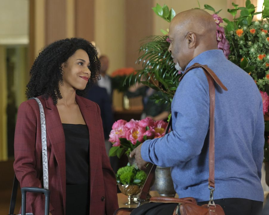 Dr. Maggie Pierce (Kelly McCreary, l.); Dr. Richard Webber (James Pickens Jr., r.) - Bildquelle: Tony Rivetti 2019 American Broadcasting Companies, Inc. All rights reserved. / Tony Rivetti