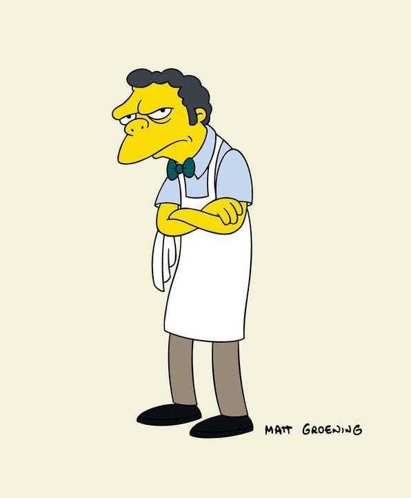 (19. Staffel) - Einer von Homer Simpsons besten Freunden: Kneipenbesitzer Moe. - Bildquelle: und TM Twentieth Century Fox Film Corporation - Alle Rechte vorbehalten