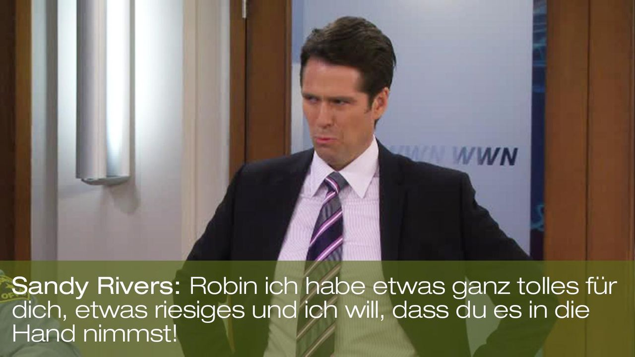 zitat-spruch-quote-how-i-met-your-mother-staffel-7-episode-21-sandy-rivers-foxpng 1600 x 900 - Bildquelle: 20th Century Fox
