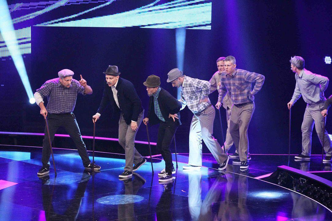 Got-To-Dance-DMA-Crew-01-SAT1-ProSieben-Guido-Engels - Bildquelle: SAT.1/ProSieben/Guido Engels