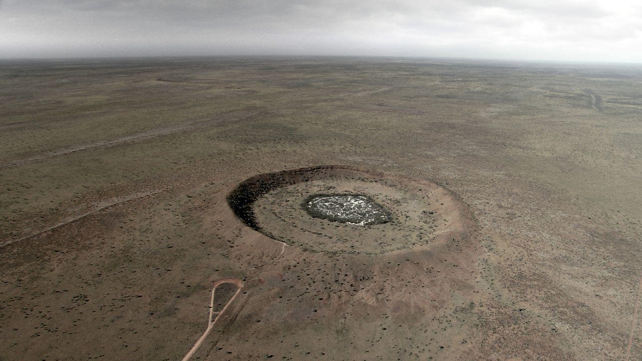 Der Wolf Creek Krater - Bildquelle: Kinowelt