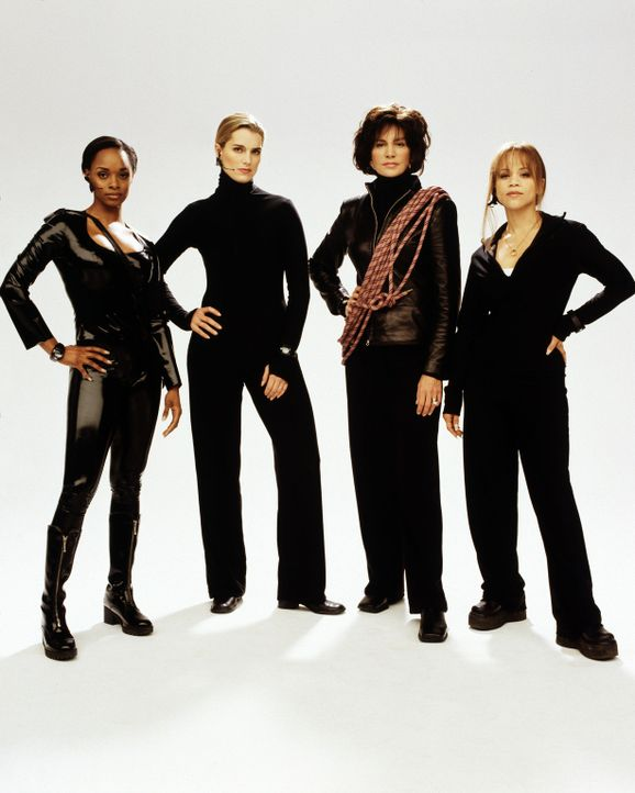 Drei Witwen und eine Tänzerin machen sich auf die Suche nach den Mördern ihrer Ehemänner: (v.l.n.r.) Bella (N'Bushe Wright), Shirley (Brooke Shie... - Bildquelle: ABC