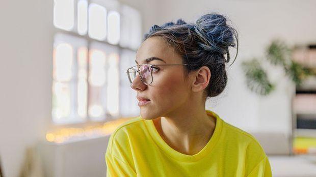 Haarknoten - ein super Tipp bei fettigem Haar