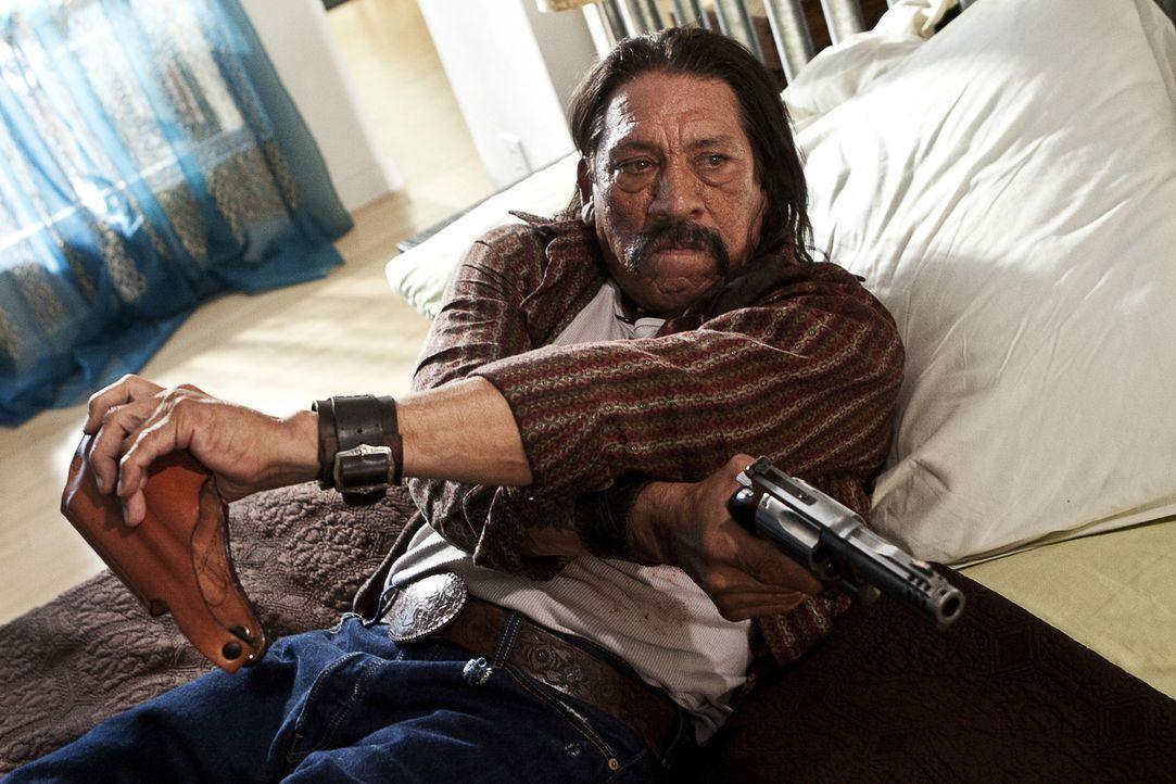 Hat für seine Gegner immer eine blutige Überraschung parat: Machete (Danny Trejo) ... - Bildquelle: 2010 Machete's Chop Shop, Inc. All Rights Reserved.