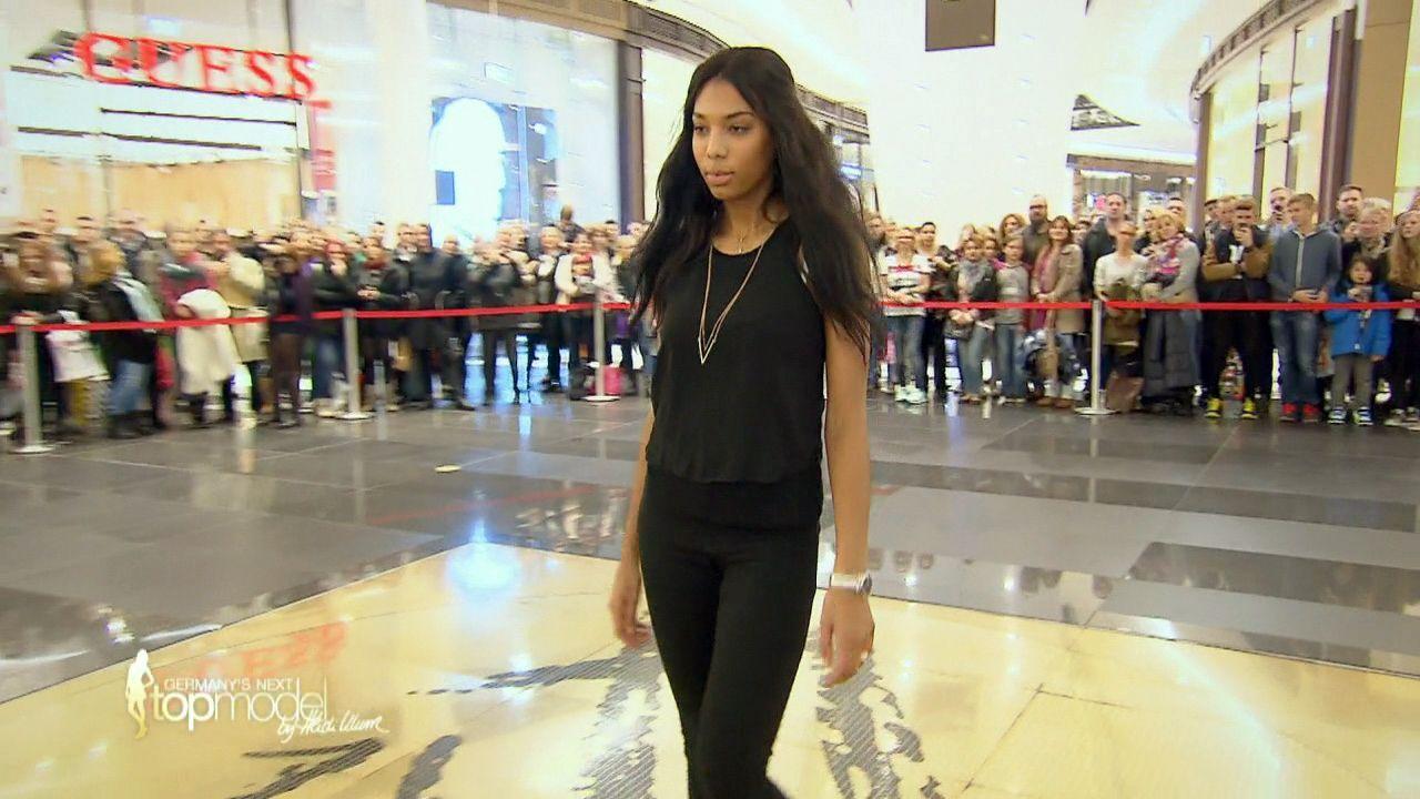 GNTM-10-Sendung01_029 - Bildquelle: ProSieben