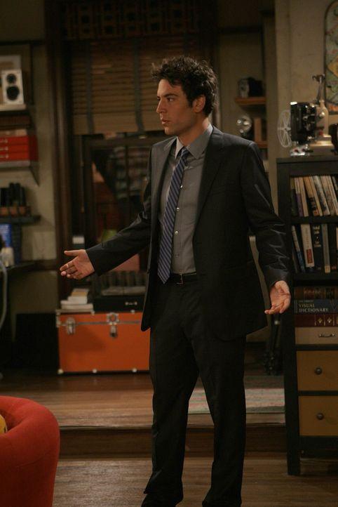 Zwischen Ted (Josh Radnor) und Barney läuft ein Wettbewerb, wer zuerst einen Dreier erlebt. Ted bekommt ein Angebot, doch kann er seine Hemmungen  - Bildquelle: 20th Century Fox International Television