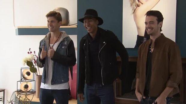 stars  video  topmodelouttake männer in der modelvilla