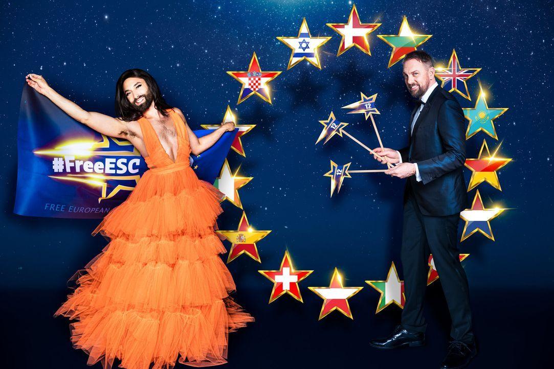 FREE EUROPEAN SONG CONTEST - Artwork - Bildquelle: Markus Morianz / Martin Saumweber ProSieben / Markus Morianz / Martin Saumweber