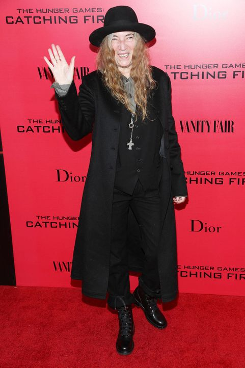 Catching-Fire-Premiere-NY-Patti-Smith-13-11-20-getty-AFP - Bildquelle: getty-AFP
