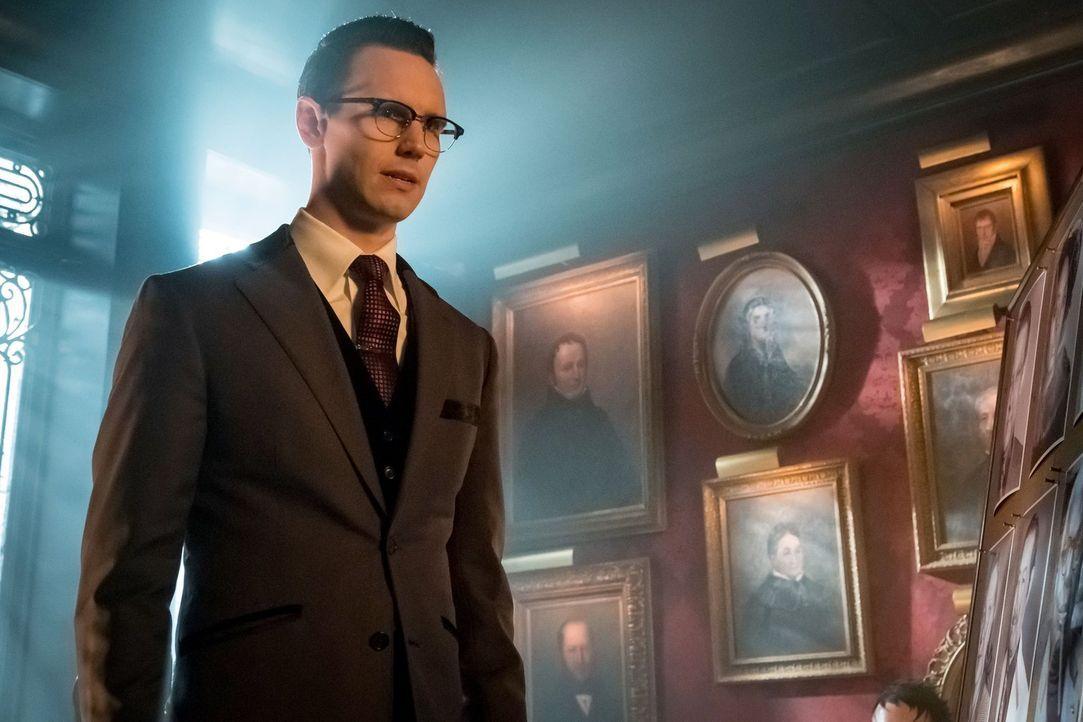 Nachdem Ed (Cory Michael Smith) Penguin erschossen hat, sucht er sich einen neuen Mentor, doch das ist schwerer als gedacht ... - Bildquelle: Warner Brothers
