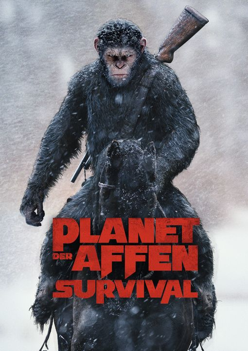 Planet der Affen: Survival - Artwork - Bildquelle: 2017 Twentieth Century Fox Film Corporation. All rights reserved.