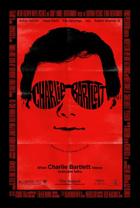 CHARLIE BARTLETT - Plakatmotiv - Bildquelle: 2007 KIMMEL DISTRIBUTION LLC. ALL RIGHTS RESERVED.