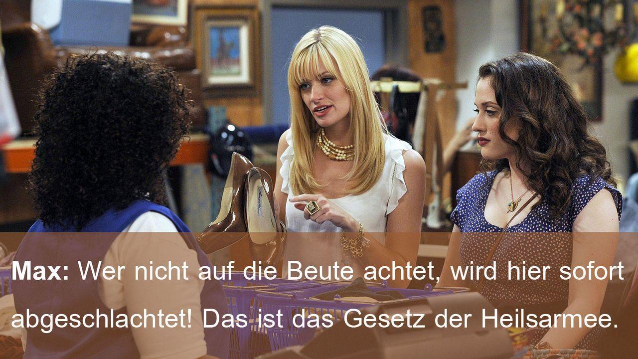 2-Broke-Girls-Zitat-der-Woche-3-Gesetz-der-Heilsarmee 1600 x 900 - Bildquelle: Warner Bros.