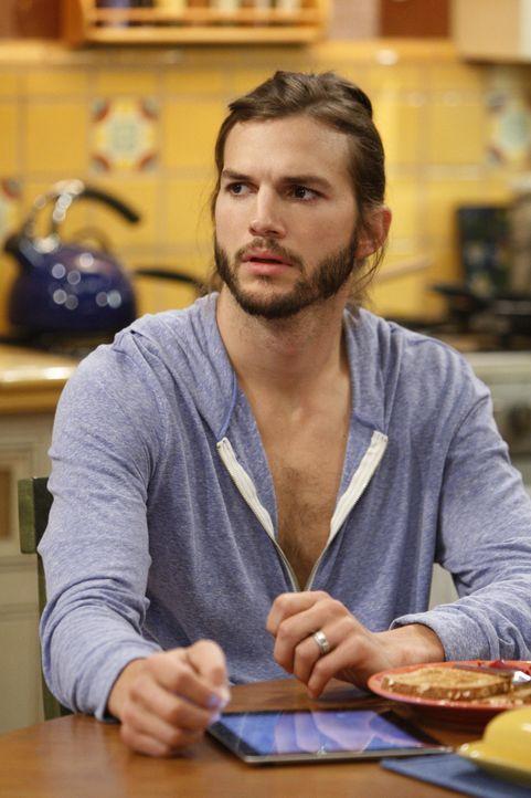 Plant sein Haus umzugestalten: Walden (Ashton Kutcher) ... - Bildquelle: Warner Brothers Entertainment Inc.