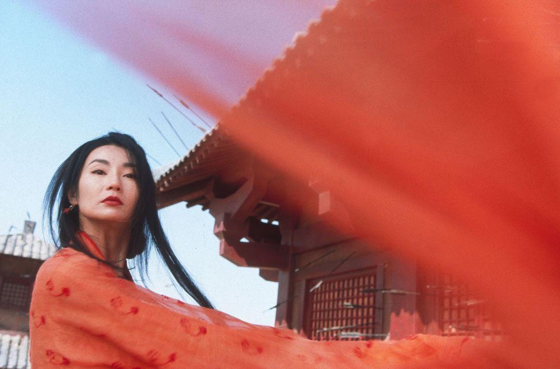 Ist bereit ihr Leben zu opfern: Flying Snow (Maggie Cheung) ... - Bildquelle: Constantin Film