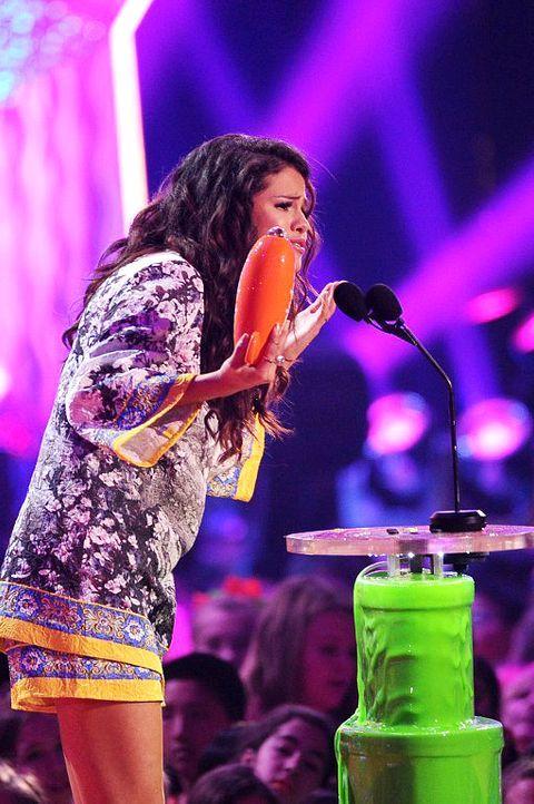 Kids-Choice-Awards-Selena-Gomez-14-03-29-getty-AFP - Bildquelle: getty-AFP