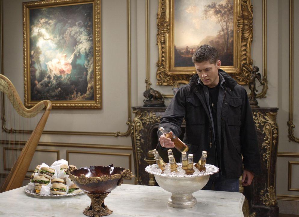 Die Apokalypse kommt und Sam und Dean (Jensen Ackles) bereiten sich auf unterschiedliche Arten auf den Kampf vor ... - Bildquelle: Warner Bros. Television