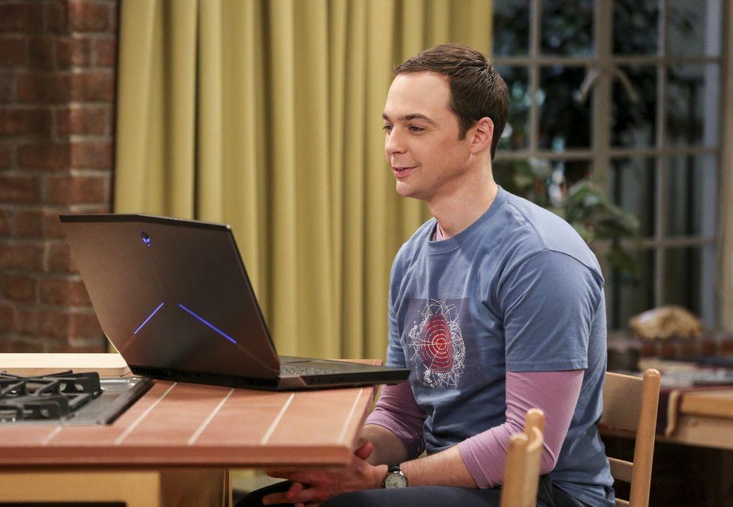 Die Beziehung von Sheldon (Jim Parsons) und Amy wird auf die Probe gestellt, als diese für ein Sommerstipendium an die Princeton Universität geht ..... - Bildquelle: 2016 Warner Brothers