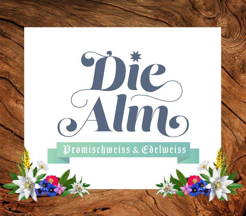 Die Alm - Promischweiß und Edelweiß - Logo - Bildquelle: ProSieben