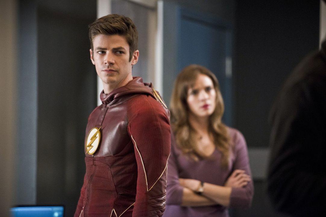 Barry alias The Flash (Grant Gustin) trifft eine Entscheidung, die alles zerstören könnte ... - Bildquelle: Warner Bros. Entertainment, Inc.