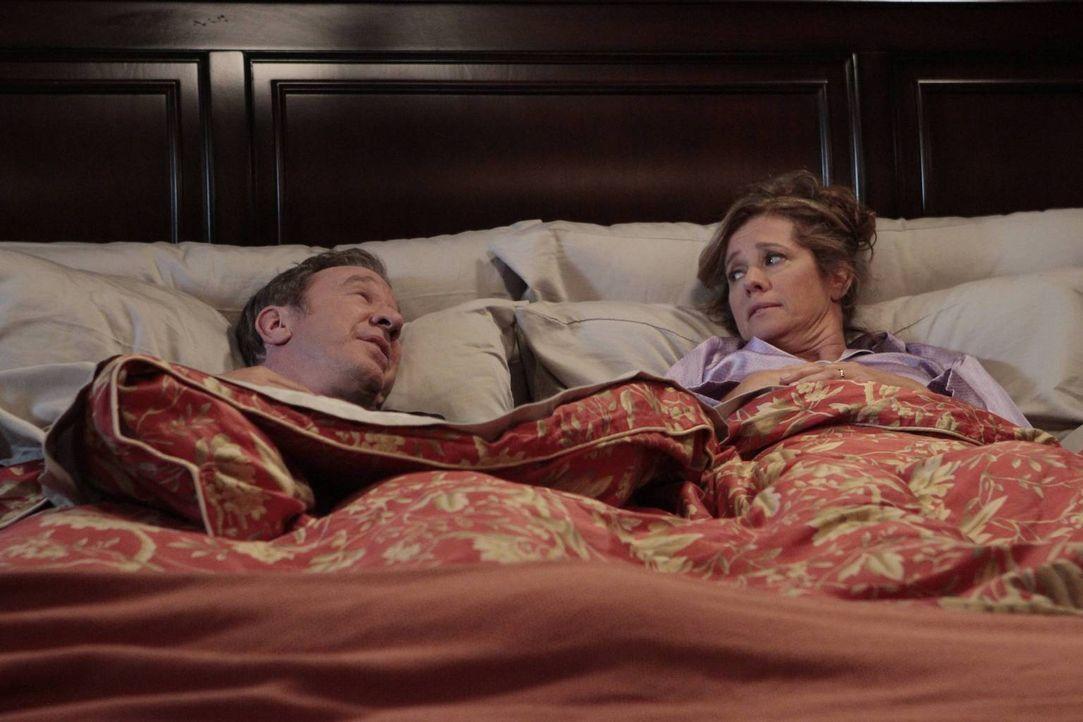 Wie immer möchte Mike (Tim Allen, l.), dass sein Ratschlag von Vanessa (Nancy Travis, r.) angenommen wird ... - Bildquelle: 2013 Twentieth Century Fox Film Corporation. All rights reserved.