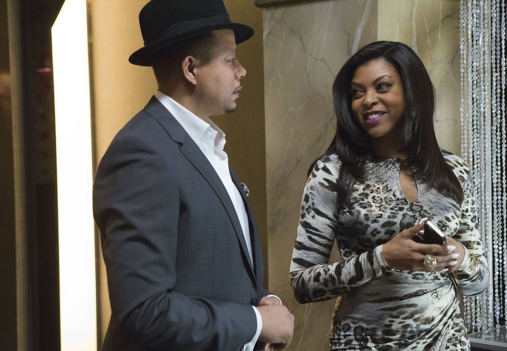 Die Spannung zwischen Lucious (Terrence Howard, l.) und seiner Ex-Frau Cookie (Taraji P. Henson) entwickelt sich langsam zu einem Knistern ... - Bildquelle: 2015 Fox and its related entities.  All rights reserved.