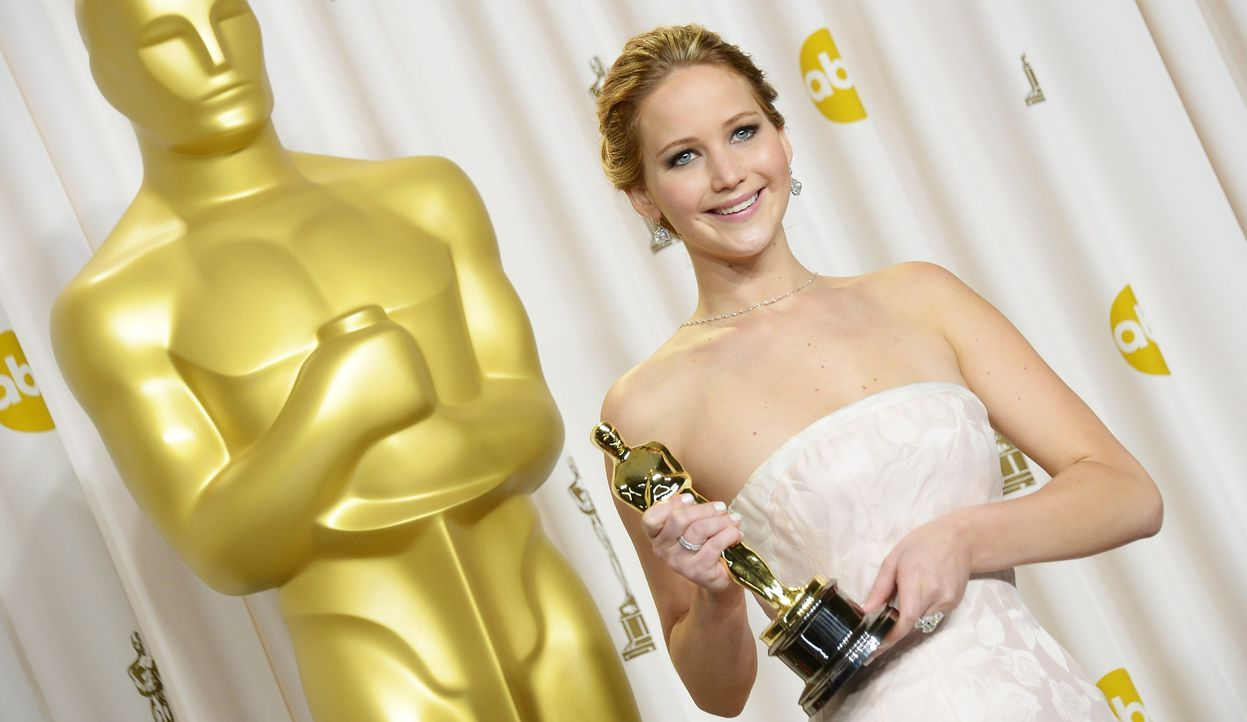 Beste-Hauptdarstellerin-2013-Jennifer-Lawrence-AFP - Bildquelle: AFP