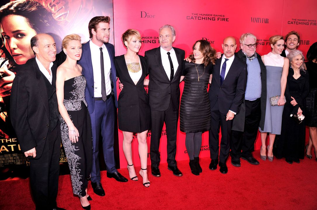 Catching-Fire-Premiere-NY-13-11-20-getty-AFP - Bildquelle: getty-AFP