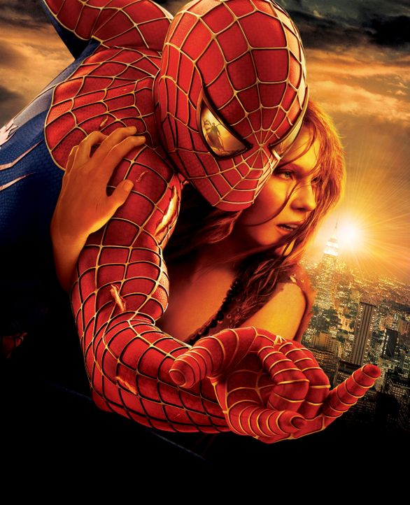 Spider-Man (Tobey Maguire, l.) leidet sehr darunter, dass er, um seine Identität geheim halten zu können, seine Liebe zu Mary Jane (Kirsten Dunst,... - Bildquelle: Sony Pictures Television International. All Rights Reserved.