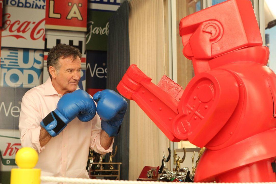 Ein ganz besonderer Chef: Simon Roberts (Robin Williams) ... - Bildquelle: 2013 Twentieth Century Fox Film Corporation. All rights reserved.