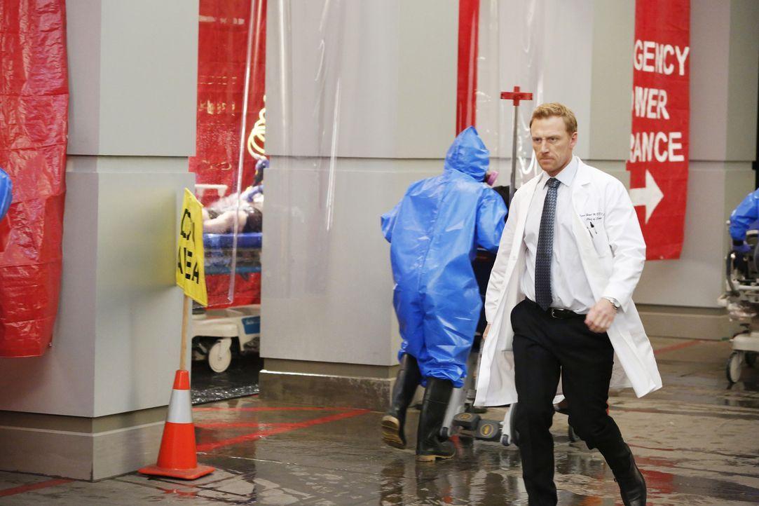 Eine große Explosion in einer Shopping Mall fordert viele Opfer. Owen (Kevin McKidd) und seine Kollegen geben alles, um Leben zu retten ... - Bildquelle: Kelsey McNeal 2014 American Broadcasting Companies, Inc. All rights reserved.