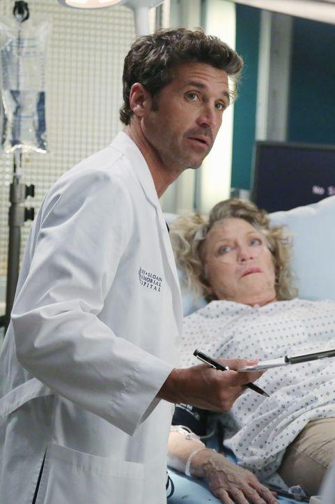 Die Ärzte haben alle Hände voll zu tun, die Schäden der vergangen Nacht zu beseitigen, aber auch Dereks (Patrick Dempsey, l.) Patientin Lydia Ash... - Bildquelle: ABC Studios