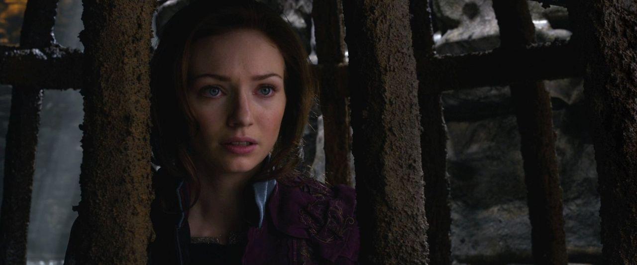 Prinzessin Isabelle (Eleanor Tomlinson) wird in der Burg der Giganten gefangen gehalten ... - Bildquelle: Warner Brothers