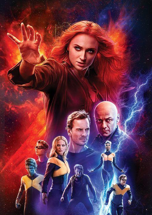 X-Men: Dark Phoenix - Artwork - Bildquelle: 2019 Twentieth Century Fox Film Corporation. All rights reserved. MARVEL © 2019 MARVEL