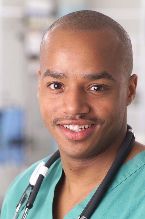 (1. Staffel) - Auch der neue Assistenzarzt der Chirurgie, Chris Turk (Donald Faison), muss schon bald feststellen, dass der chaotische Klinikalltag... - Bildquelle: Touchstone Television