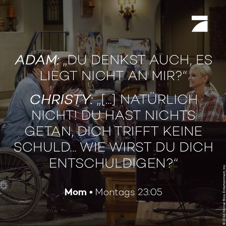 Christy und Adam - Staffel 4 Episode 3 - Bildquelle: 2016 Warner Bros. Entertainment, Inc.