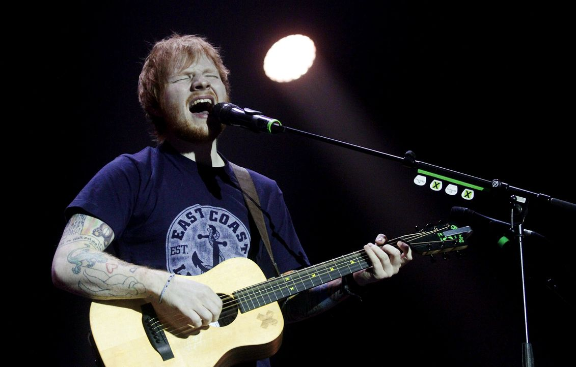 Ed-Sheeran-15-02-16-dpa - Bildquelle: dpa