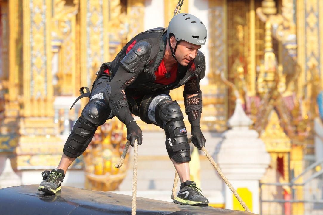 Global Gladiators Lucas Cordalis (7) - Bildquelle: ProSieben/Richard Hübner