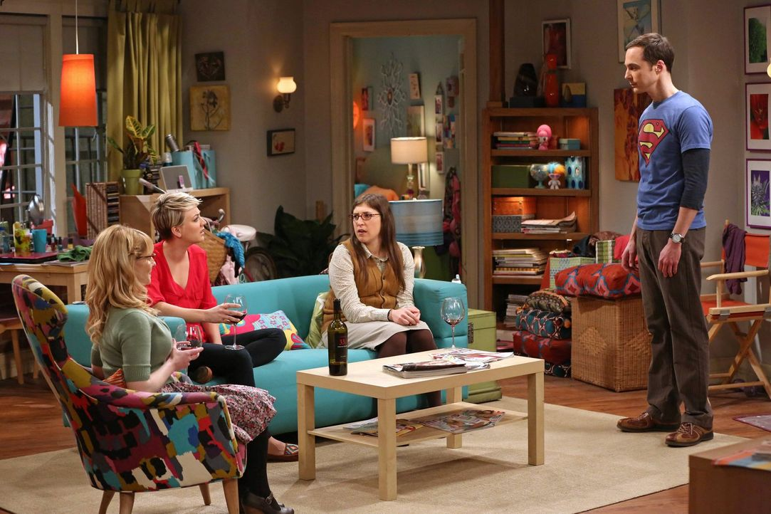 Sheldon (Jim Parsons, r.) kommt mit seiner Forschung zur Dunklen Materie einfach nicht voran. Deshalb fasst er einen Entschluss, um seine Hirnleistu... - Bildquelle: Warner Bros. Television