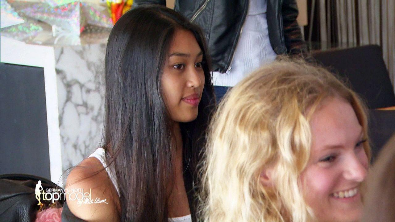 GNTM-Stf10-Epi09-Casting-Heidi-Klum-Intimates-08-ProSieben - Bildquelle: ProSieben