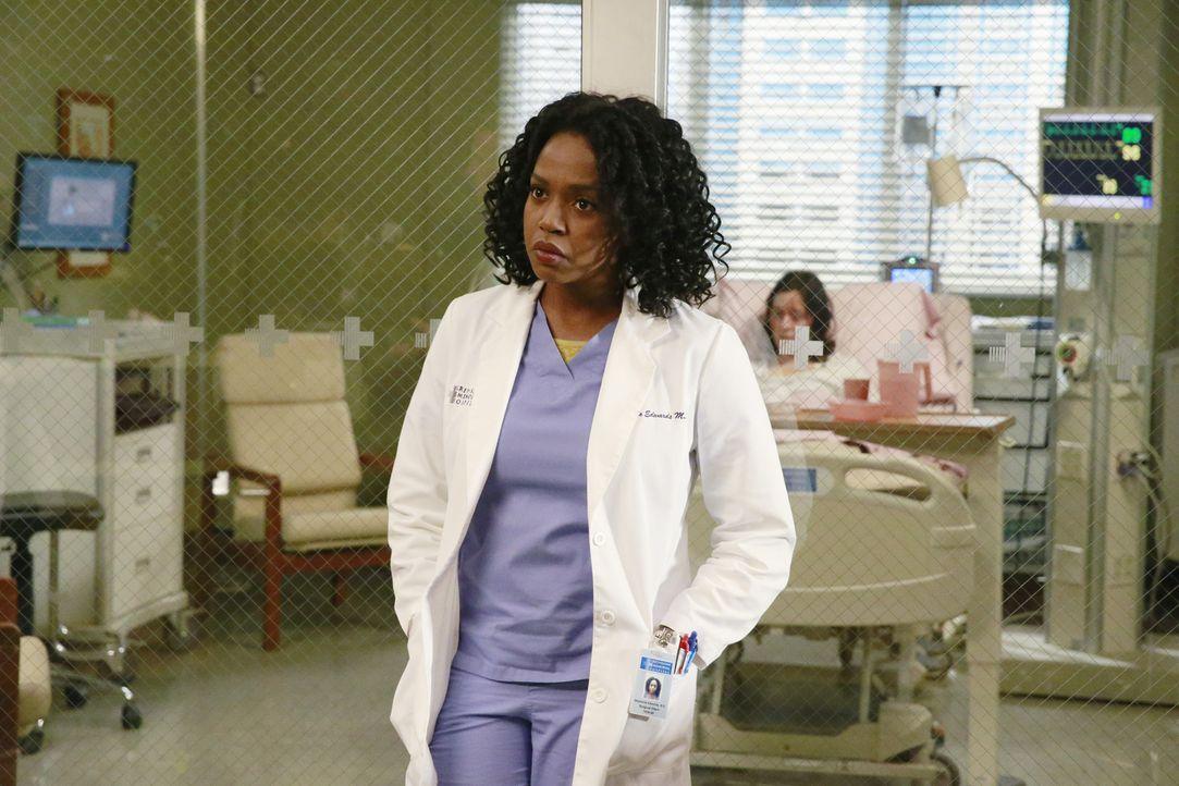 Ein Streit zwischen Owen und Amelia wirkt sich auf ihre Arbeitssituation aus: Stephanie (Jerrika Hinton) ... - Bildquelle: ABC Studios