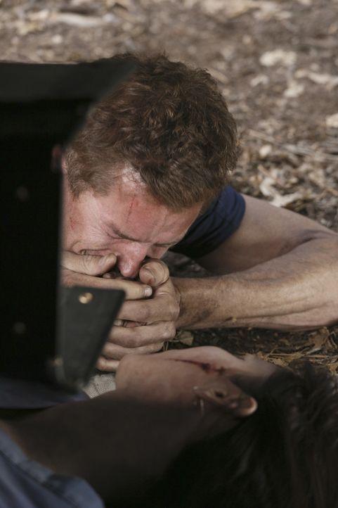 Nachdem Flugzeugabsturz versucht Mark (Eric Dane, l.) alles, um Lexie (Chyler Leigh, r.) zu retten. Doch hat sie eine Überlebenschance? - Bildquelle: Touchstone Television