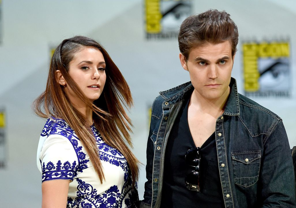 Nina-Dobrev-Paul-Wesley14-07-26-AFP - Bildquelle: Getty-AFP