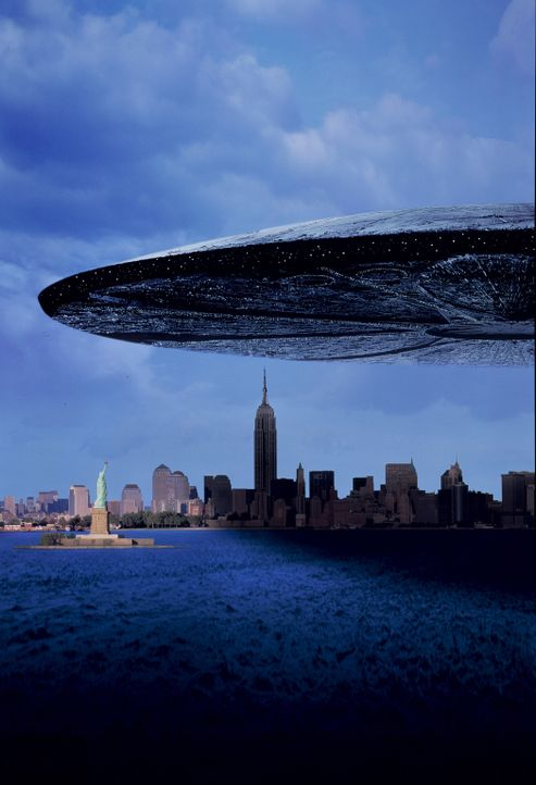 Attacke! Am Himmel über der Erde erscheinen gigantische Scheiben - außerirdische Raumschiffe. Weshalb sie hier sind und worauf sie warten weiß keine... - Bildquelle: 20th Century Fox Film Corporation