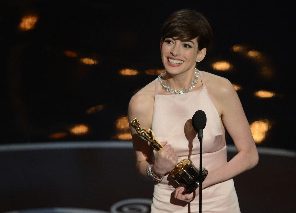 Oscar ® 2013 - Beste Nebendarstellerin: Anne Hathaway - Bildquelle: AFP / GETTY IMAGES NORTH AMERICA