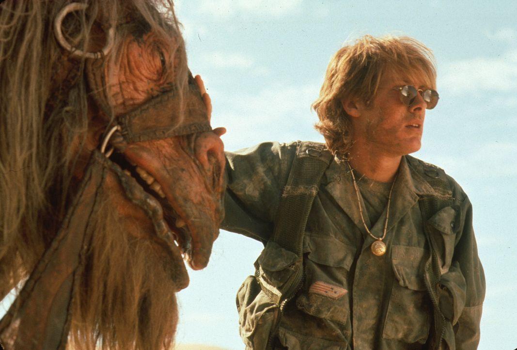 Schon bald erkennt Daniel (James Spader), dass die unorthodoxen Kamele durchaus hilfsbereite und intelligent Gefährten sind ...
